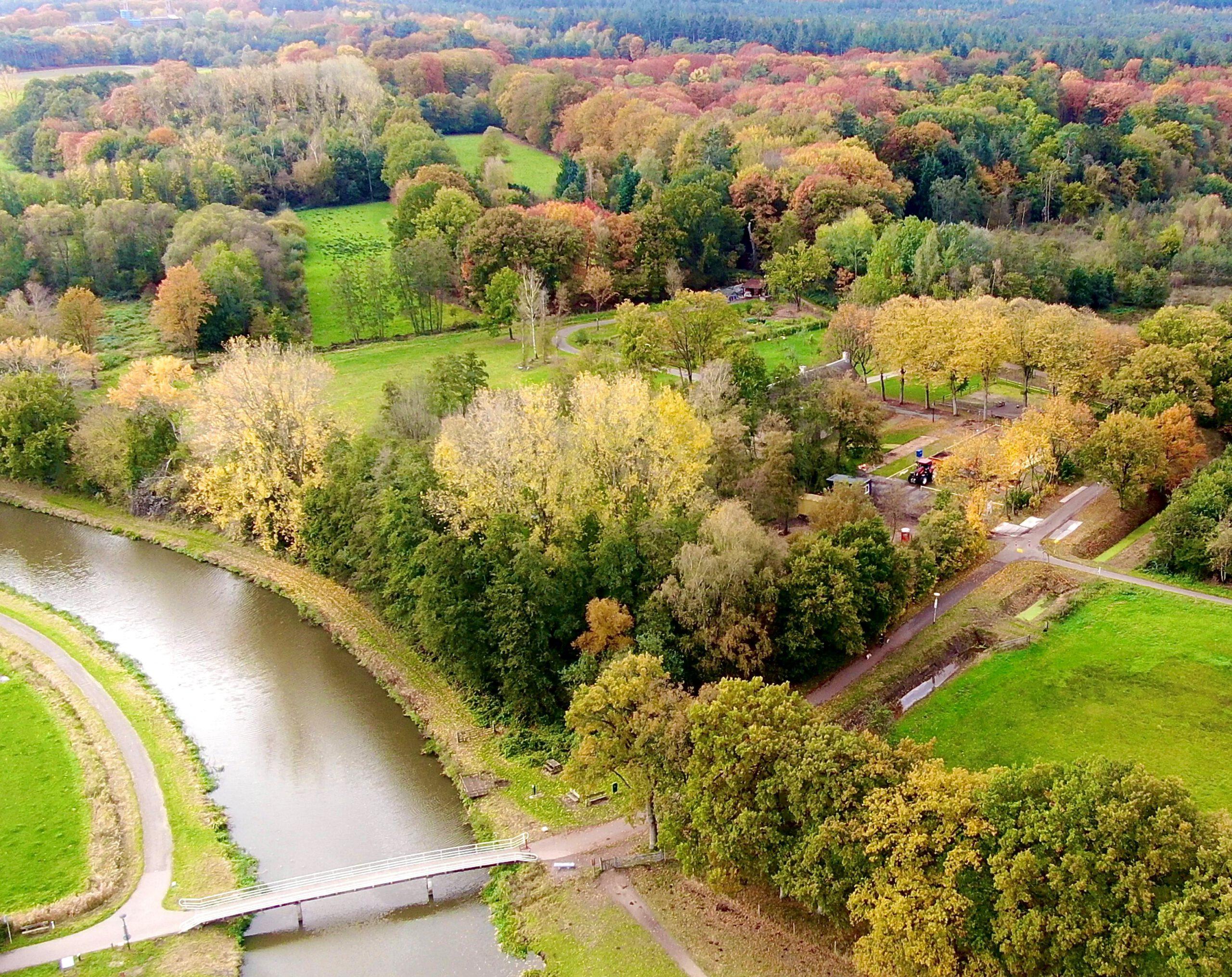 luchtfoto nuwenhuys