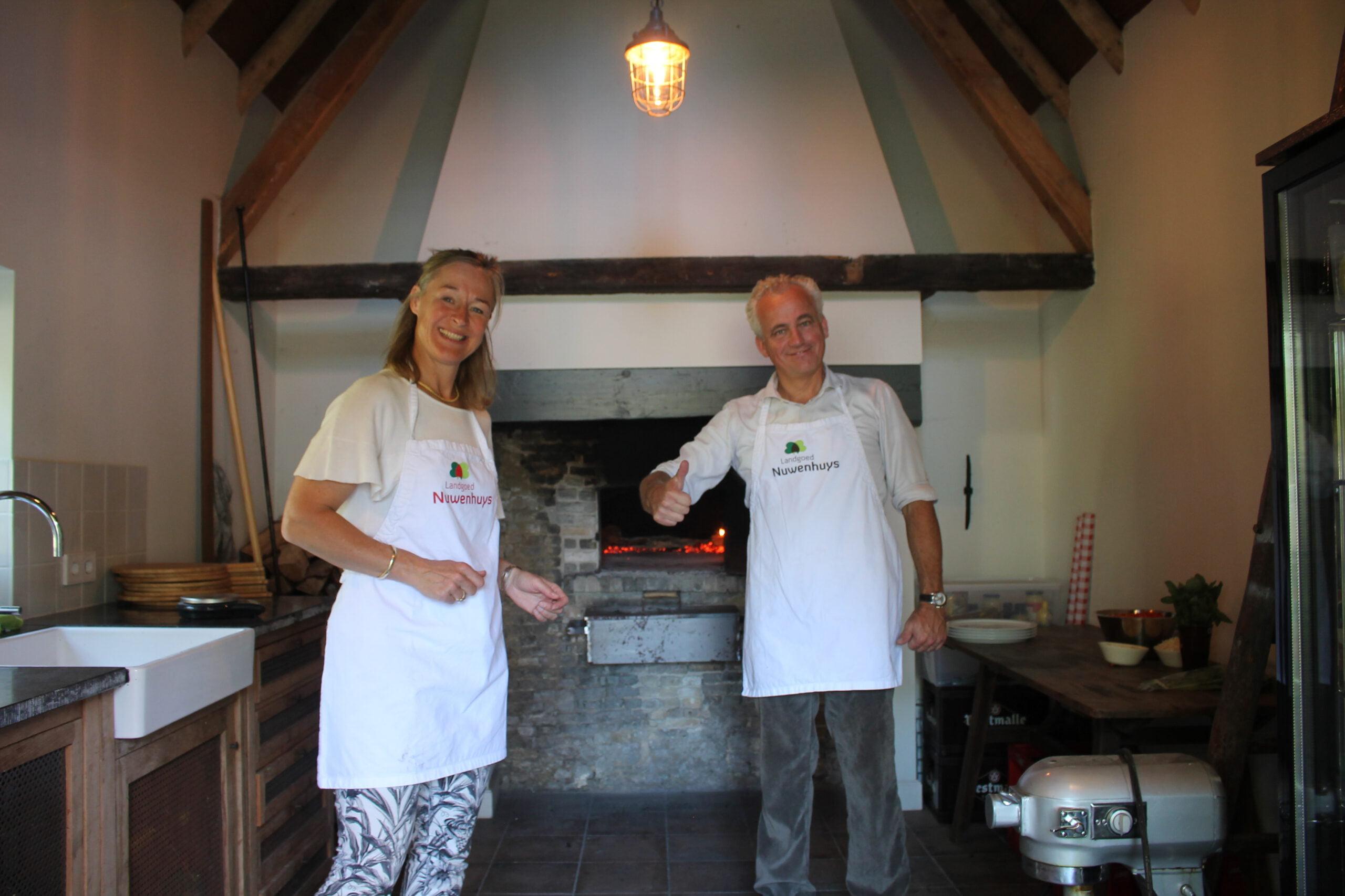 Jean-Marie en Annina van Logtestijn eigenaren Landgoed Nuwenhuys